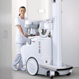 Digitálny mobilný röntgen AGFA DX-D 100